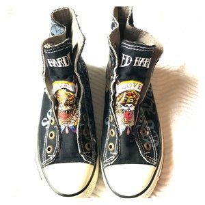 Ed Hardy Hightops
